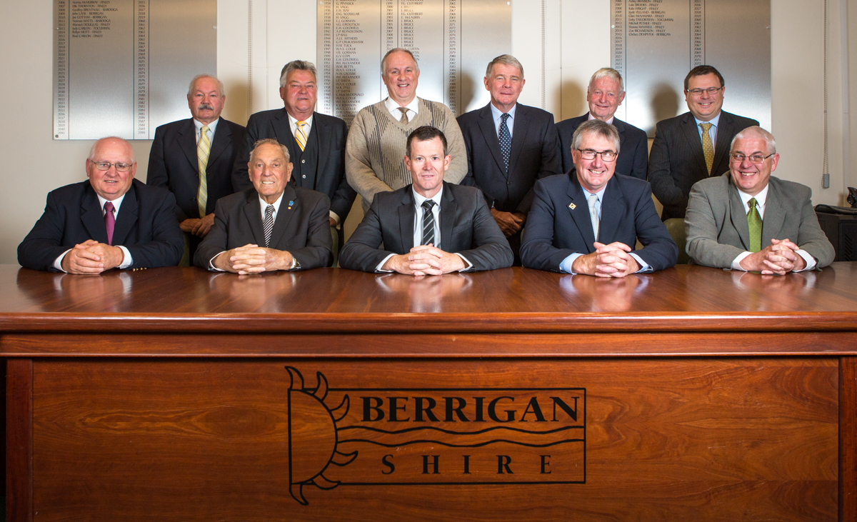 Berrigan Shire Councillors photo
